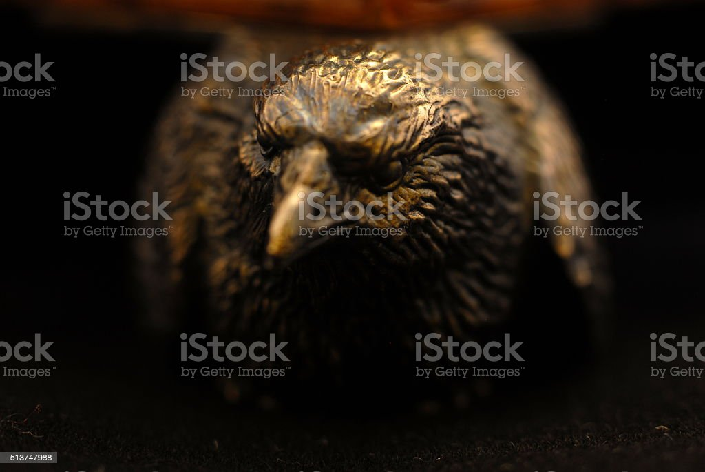 forged eagle stock photo