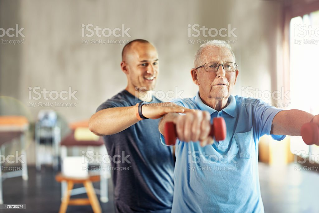 Forget about age, it's time to engage - foto de stock