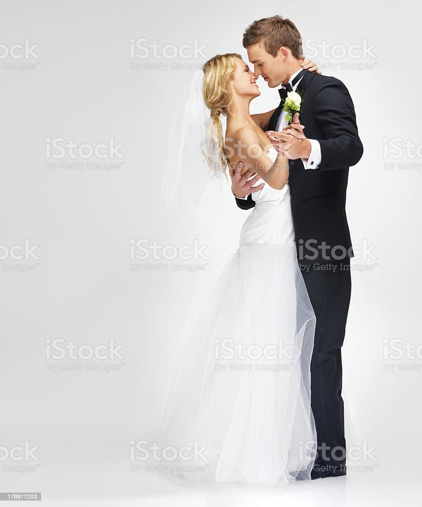 Forgetting about everything around them stock photo