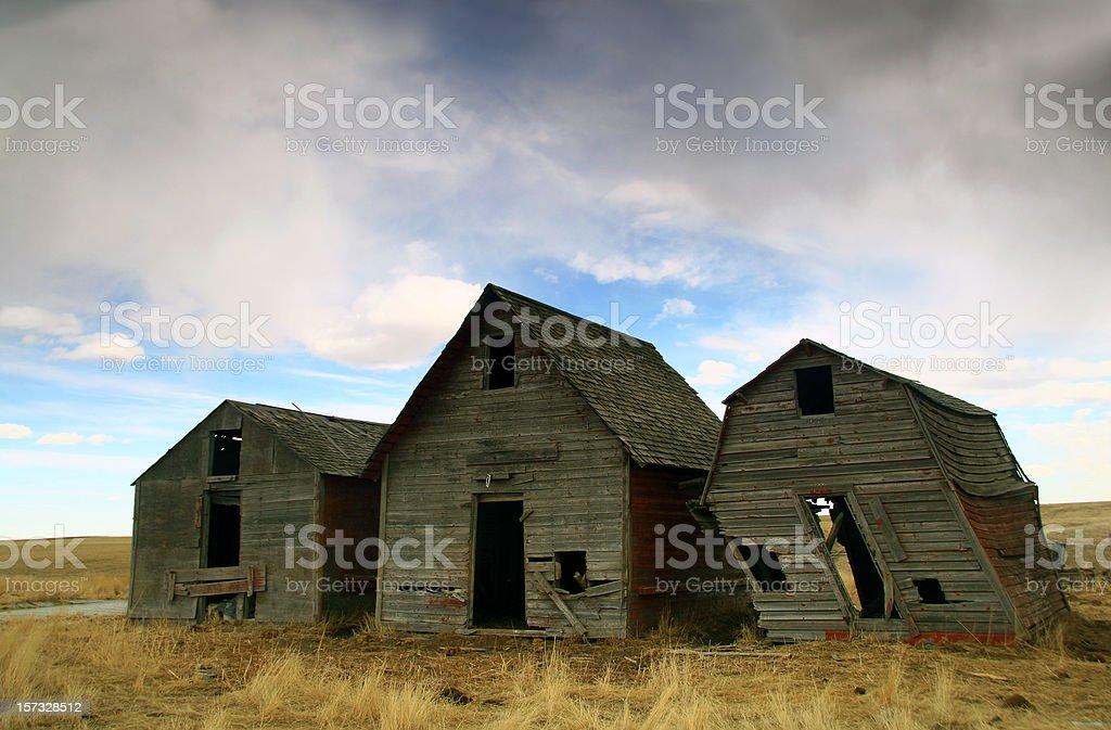 Forgotten Barns royalty-free stock photo