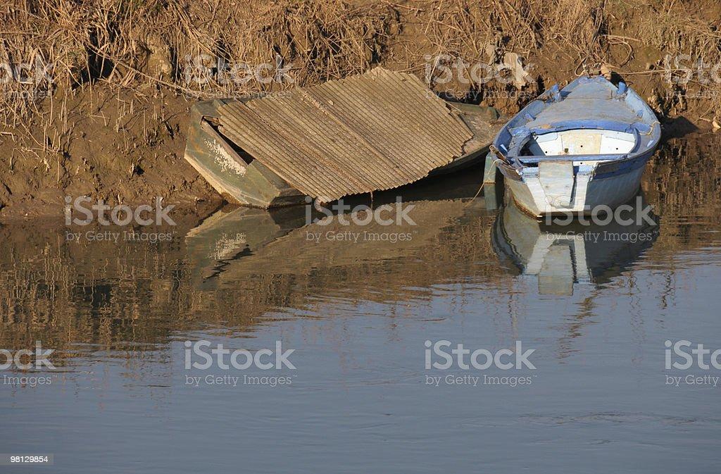 Dimenticato imbarcazioni foto stock royalty-free