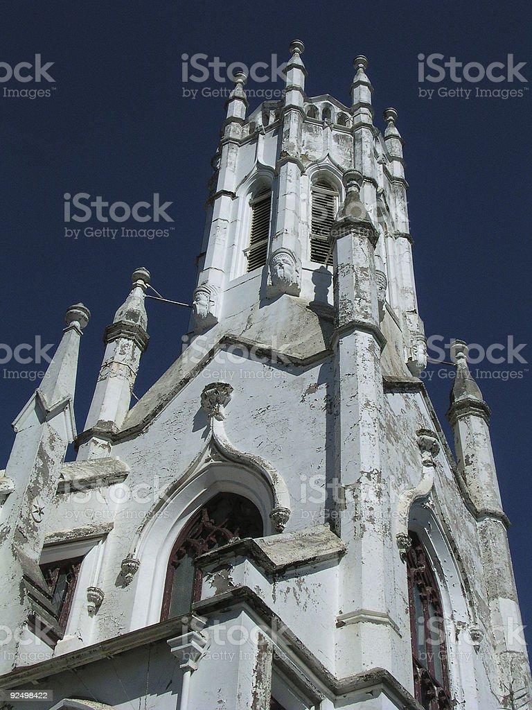 Forgotten church royalty-free stock photo