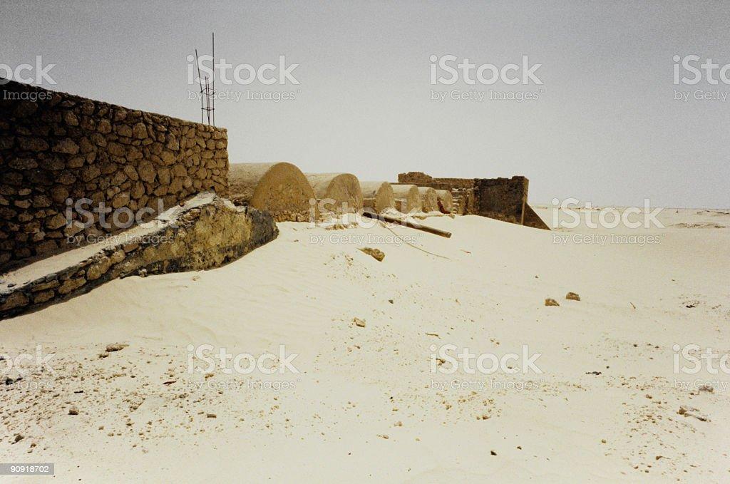 forgotten fortress royalty-free stock photo