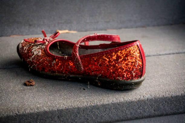 Vergessene Ruby Slipper – Foto