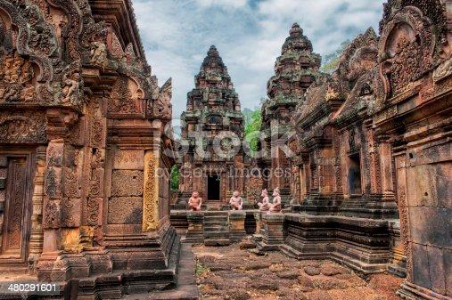 istock Forgotten temple 480291601
