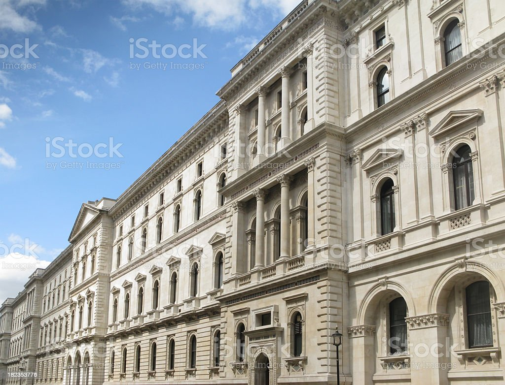 Foriegn and Commonwealth Office, London. royalty-free stock photo