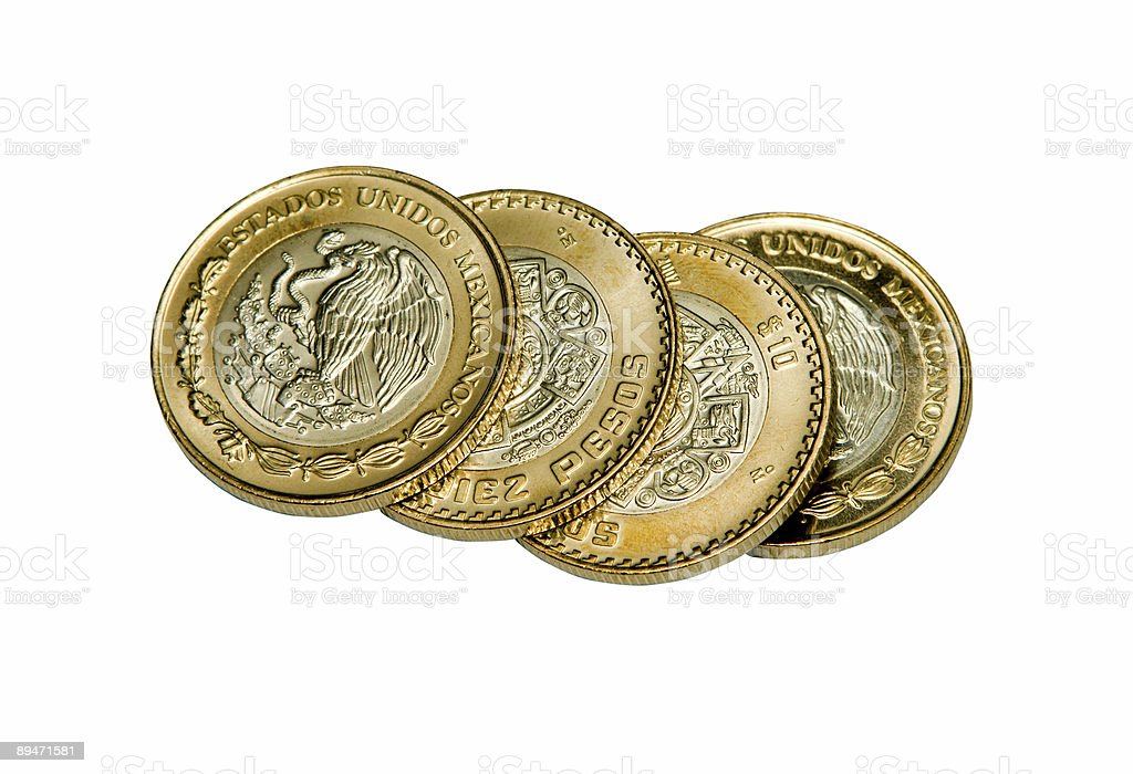 Foriegn Coinage royalty-free stock photo