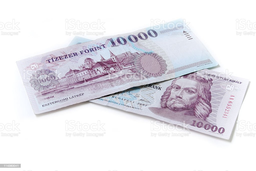forint royalty-free stock photo