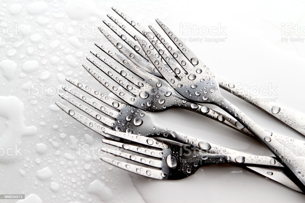 Fork and spoon - Royalty-free Arte Foto de stock
