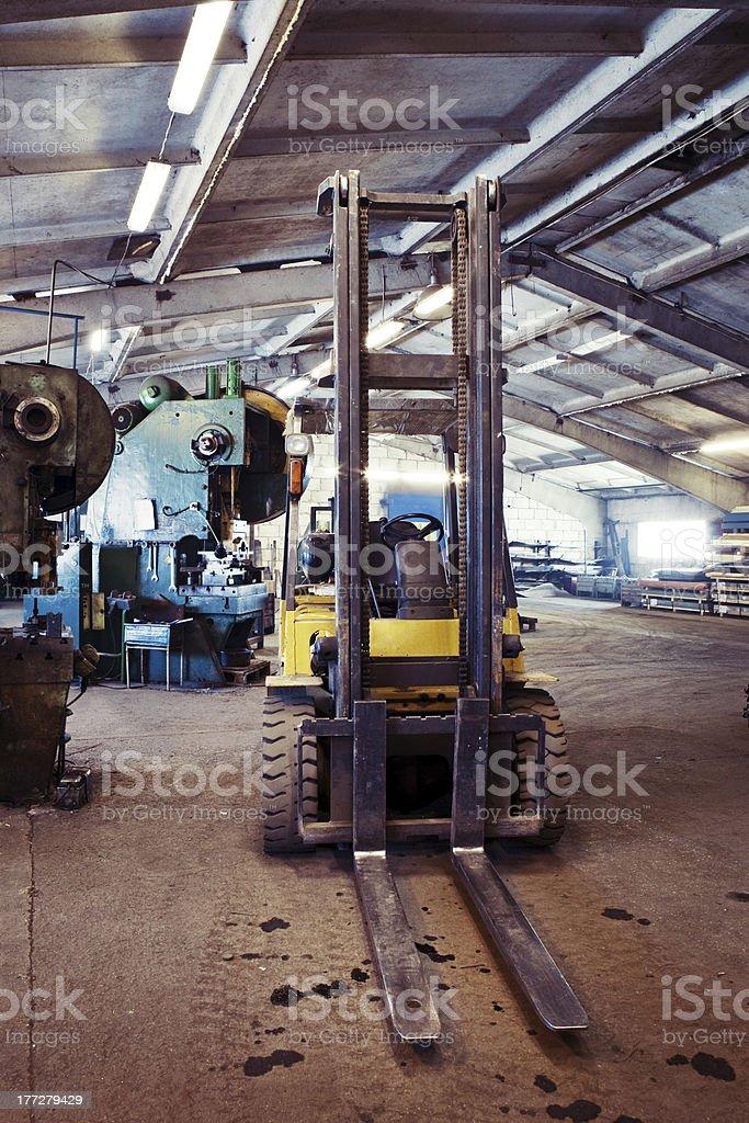 Fork lifter truck – Foto