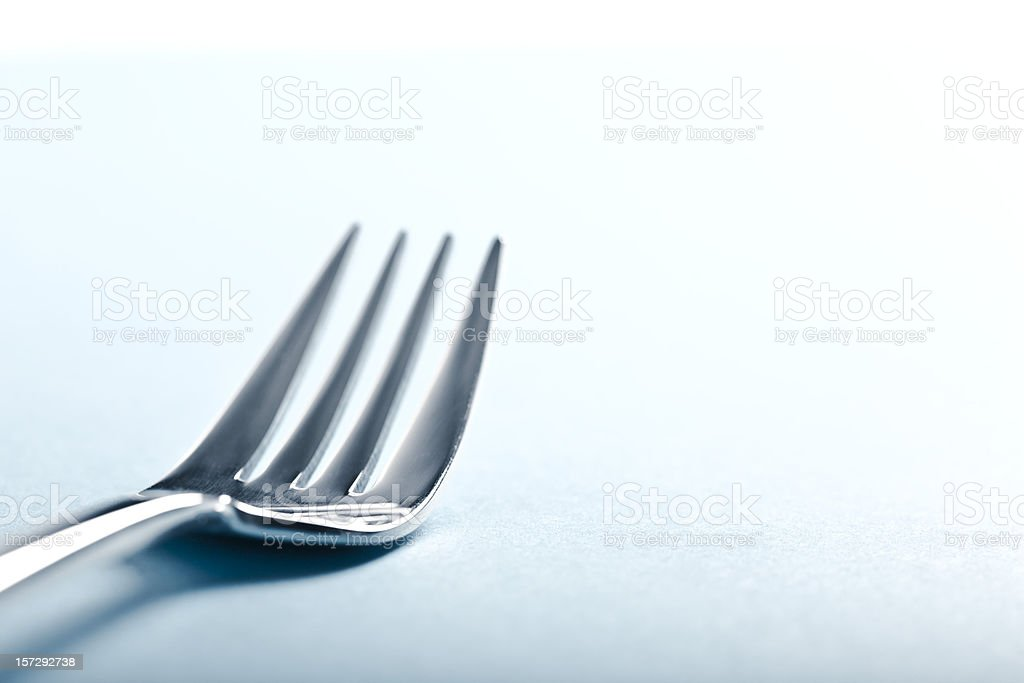 Fork royalty-free stock photo
