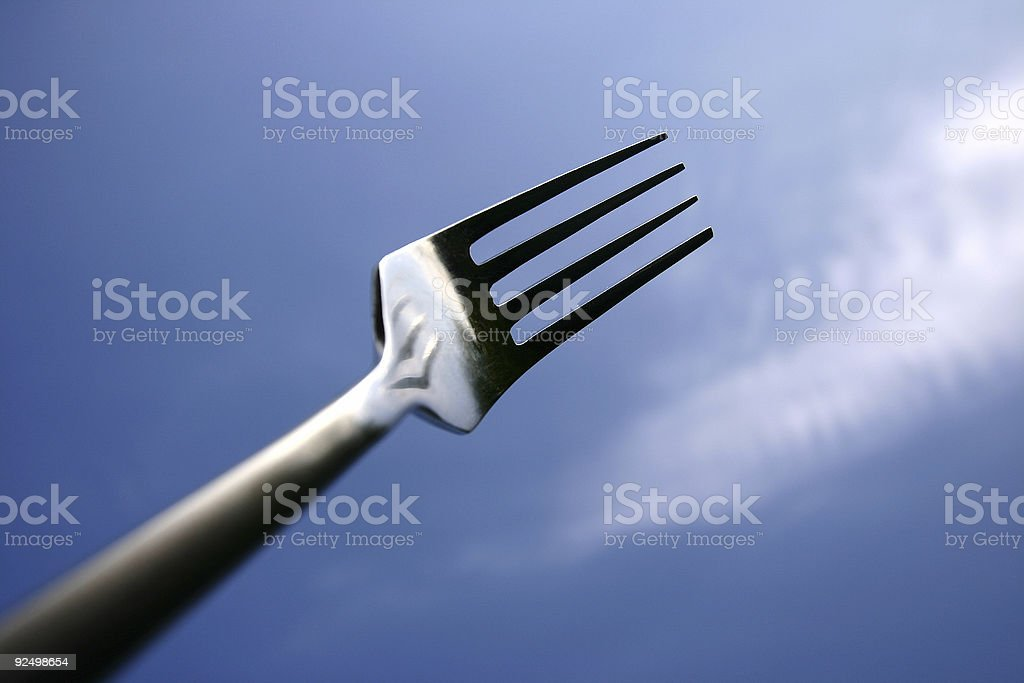 fork02 royalty-free stock photo