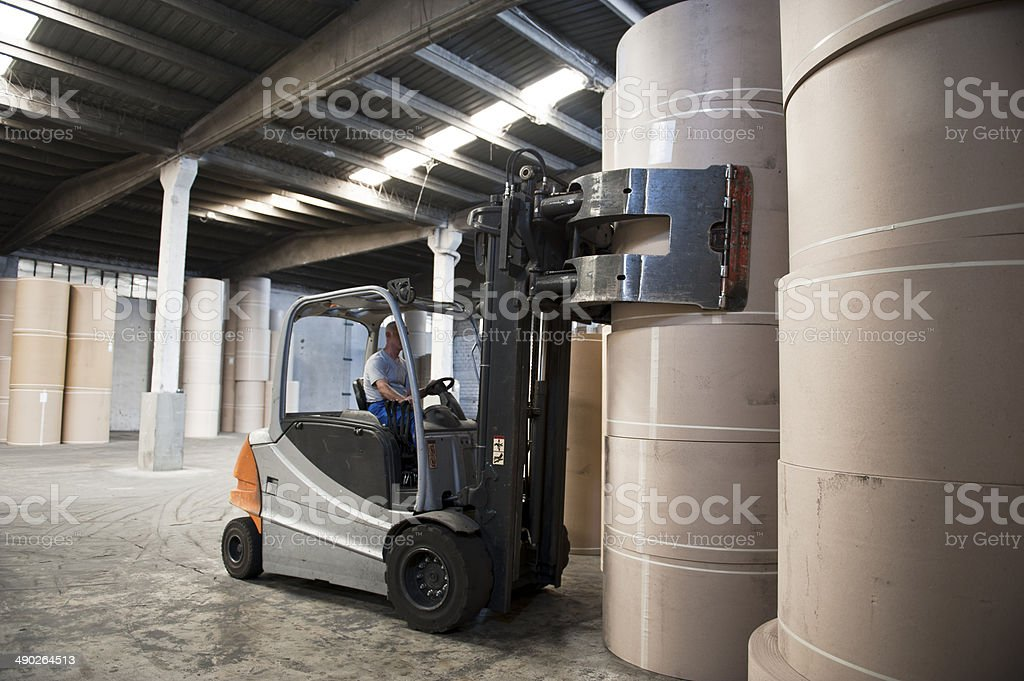 Forklift - Royalty-free Adult Stock Photo