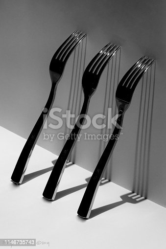 Three forks and their long shadows