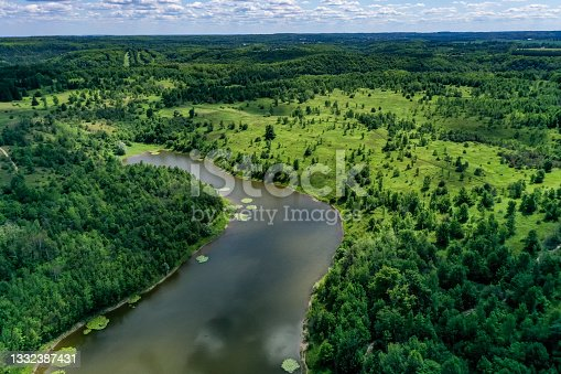 istock Forks of the Credit Provincial Park, Caledon, Canada 1332387431