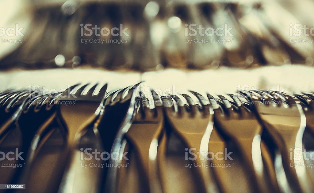 forks stock photo