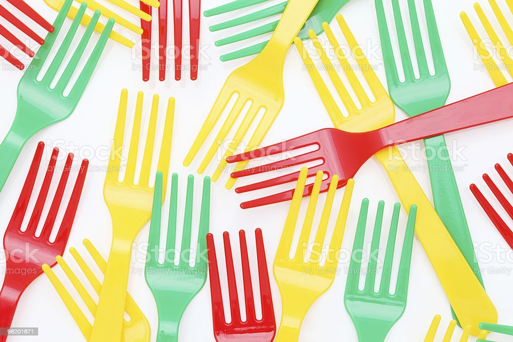 Forks-Città foto stock royalty-free