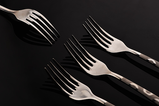 Forksy Stock Photo - Download Image Now