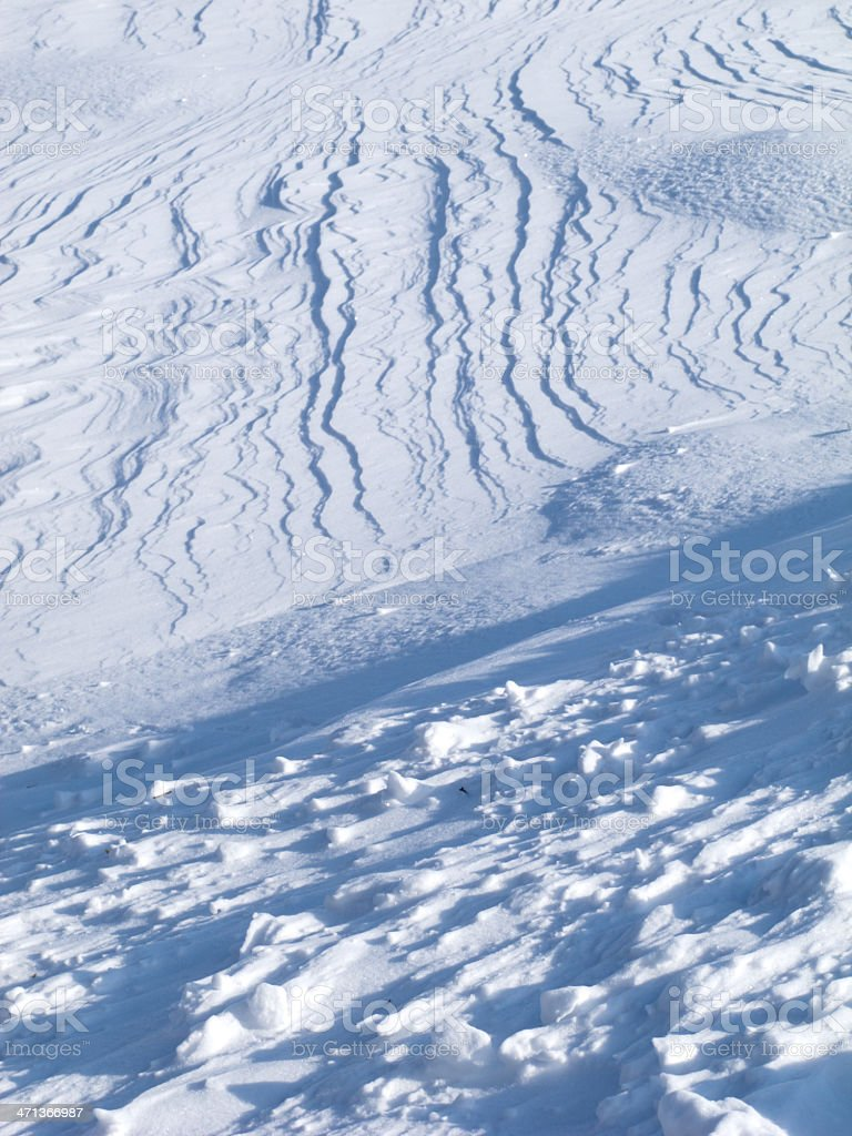 Form of Snow royalty-free stock photo