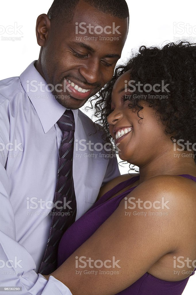 Formal Couple royalty-free stock photo