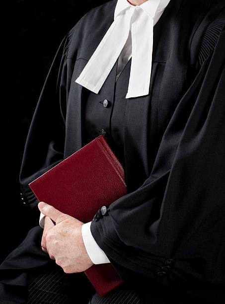 Formal Court Gowns stock photo