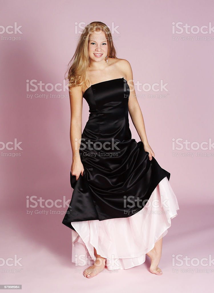 formal dress royalty-free stock photo