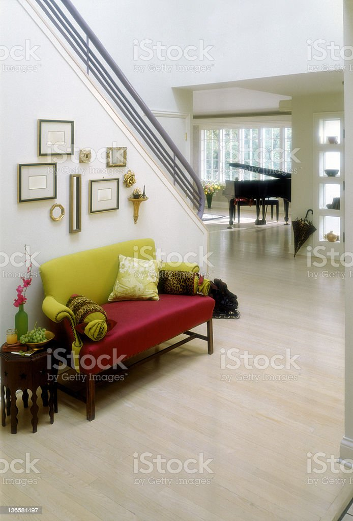 Formal Foyer royalty-free stock photo