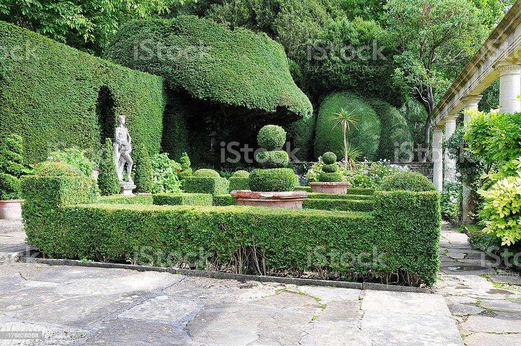 Formal Garden stock photo
