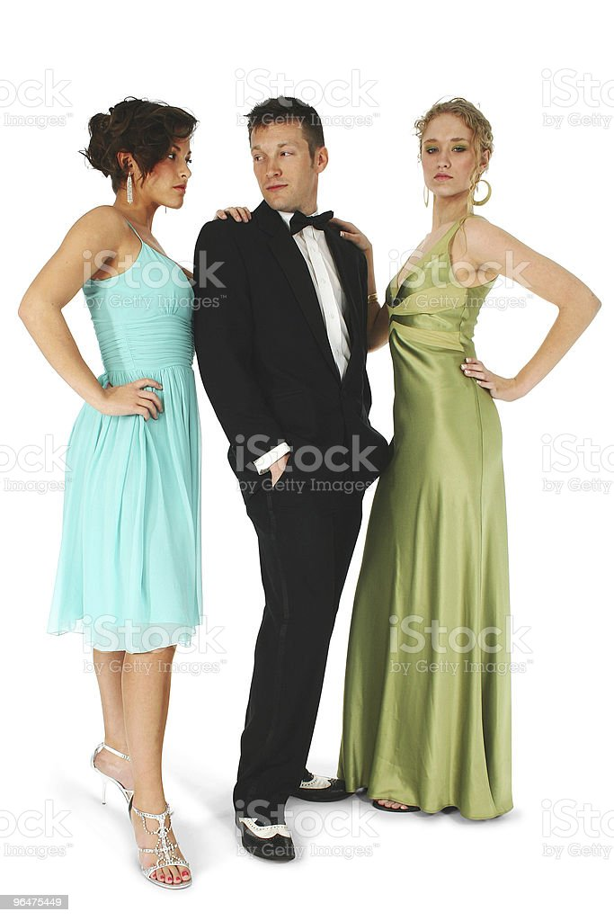 Formal Group royalty-free stock photo