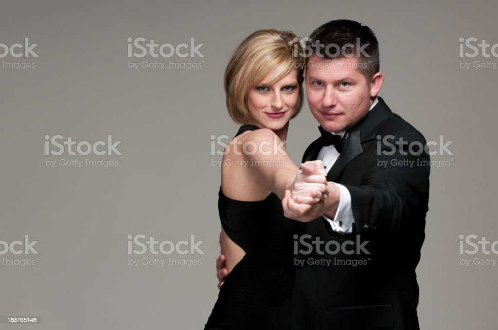 Formal Man and Woman royalty-free stock photo