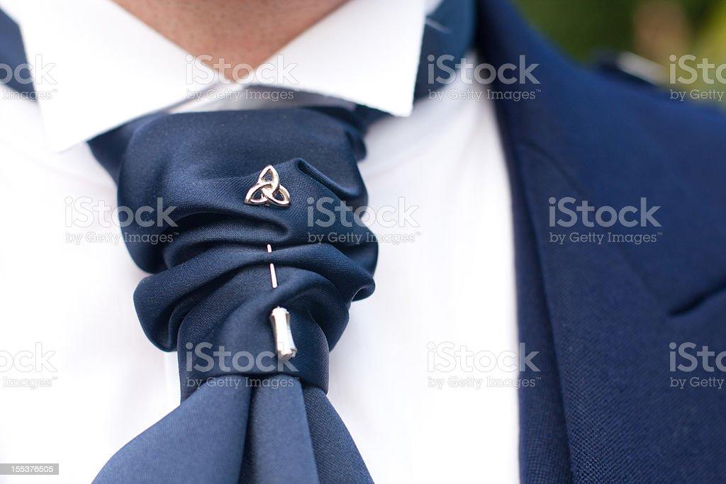 Formal Tie Pin royalty-free stock photo
