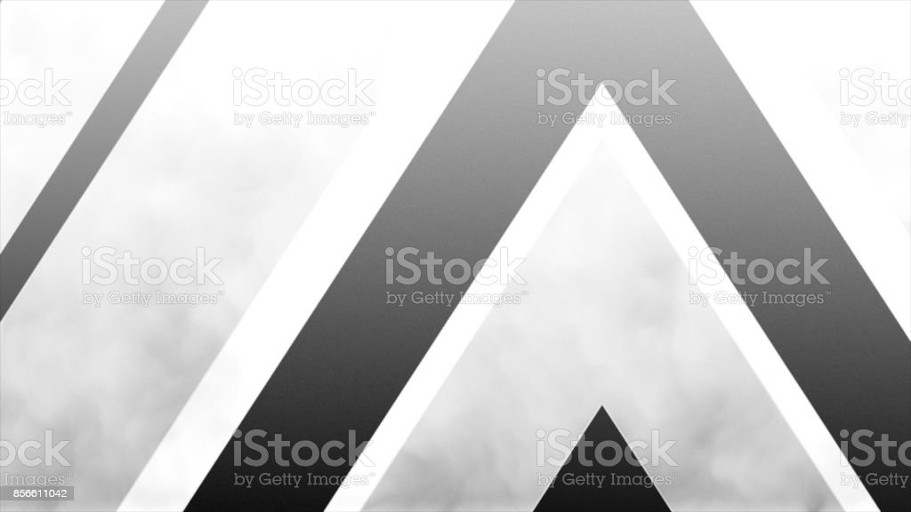 formation of arrow from up to down, high definition CGI motion backgrounds ideal for editing, great for luma keying and masking stock photo