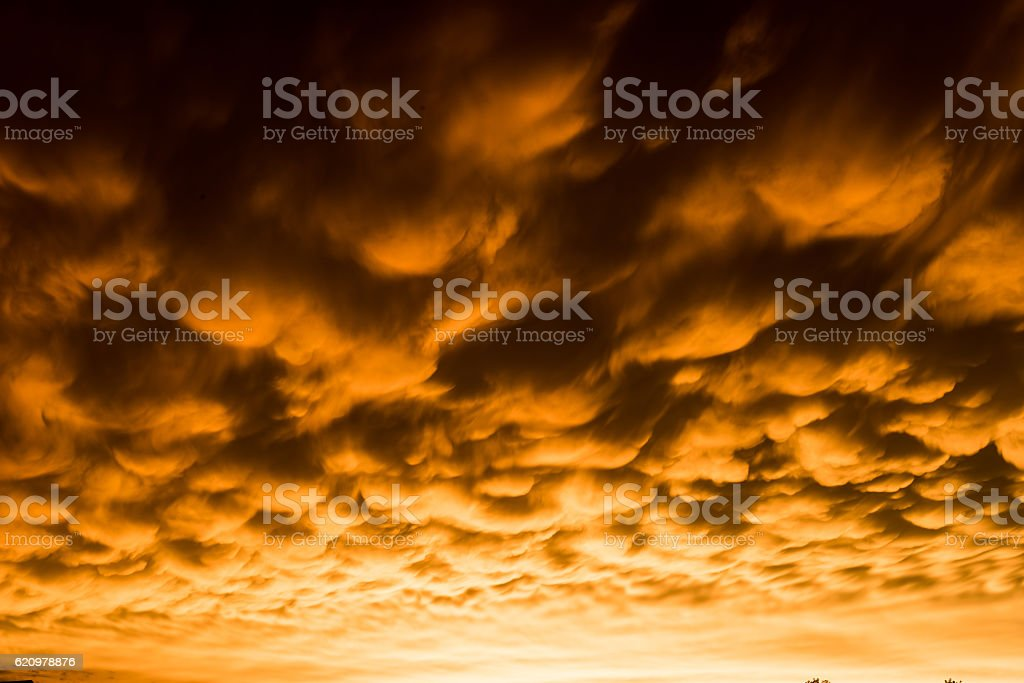 Formation of mammatus foto royalty-free