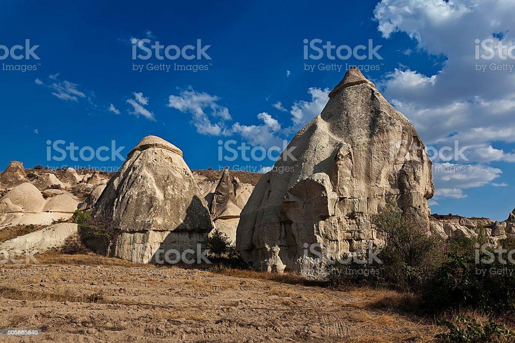Formation of stone pillars 02 stock photo