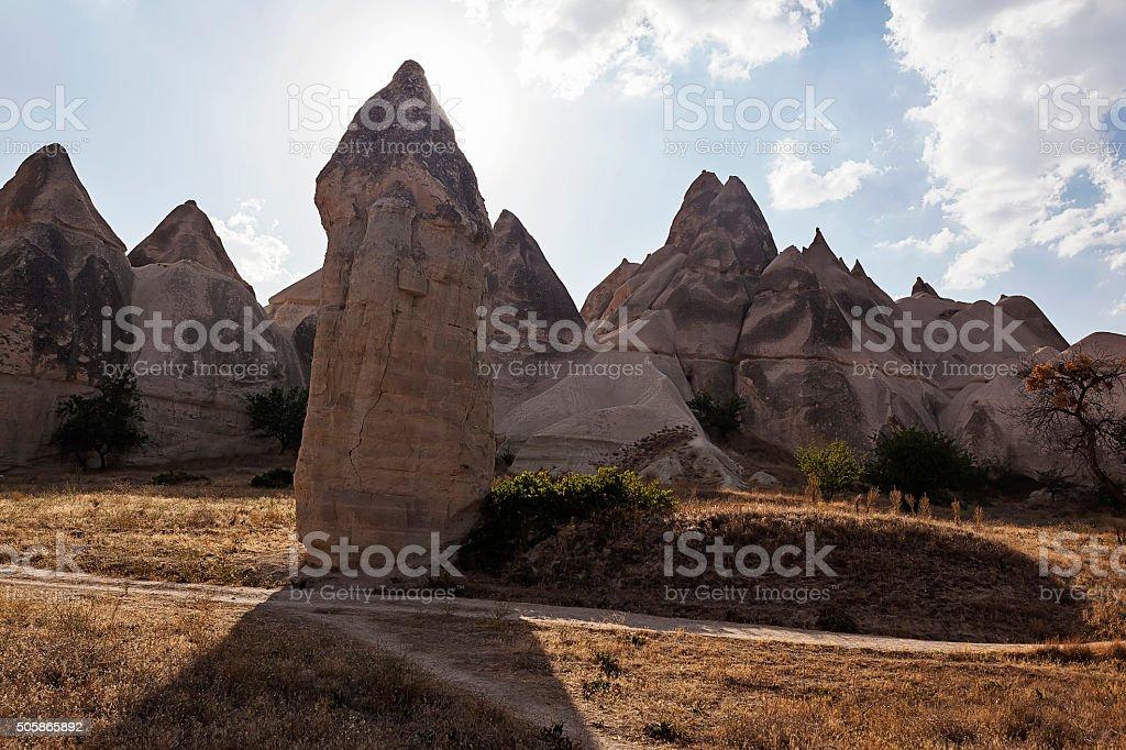 Formation of stone pillars 03 stock photo