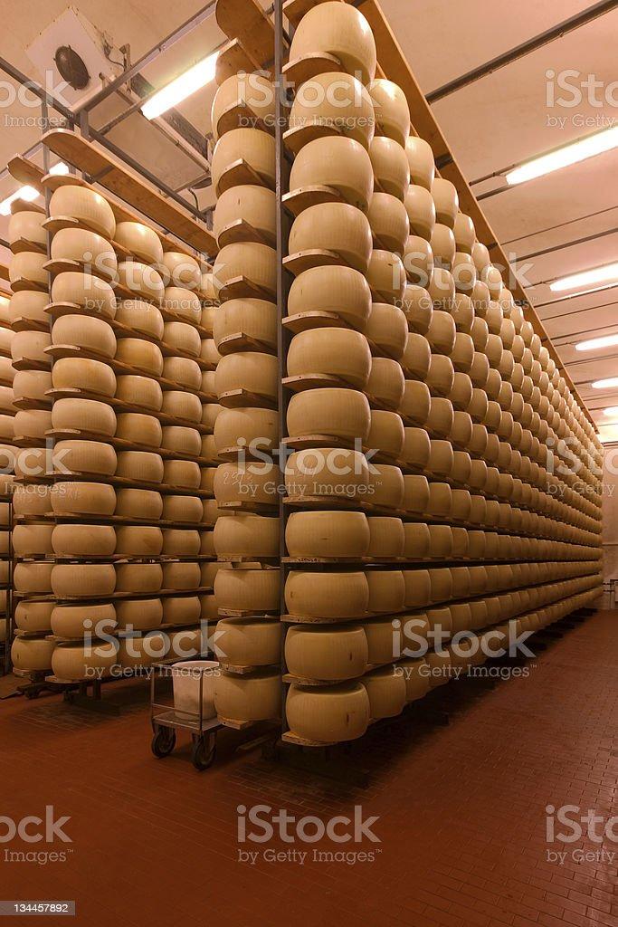 forme di formaggio royalty-free stock photo