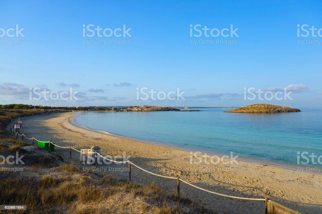 Formentera, Illetes stock photo