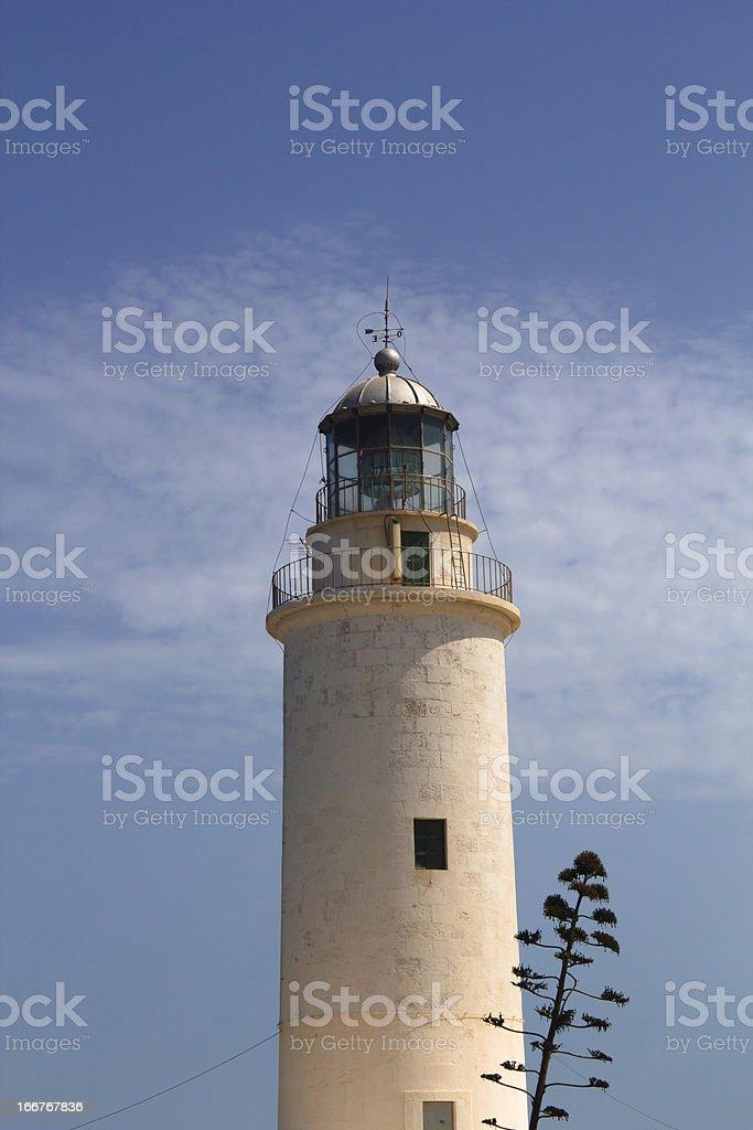 Formentera lighthouse royalty-free stock photo