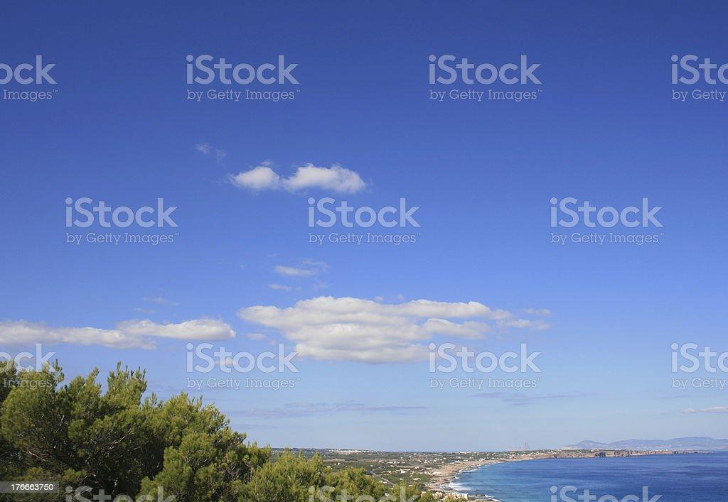 Formentera royalty-free stock photo