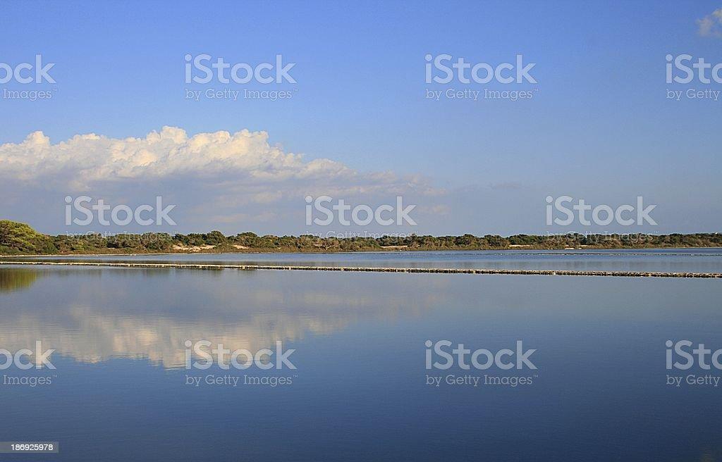 Formentera Salinen royalty-free stock photo