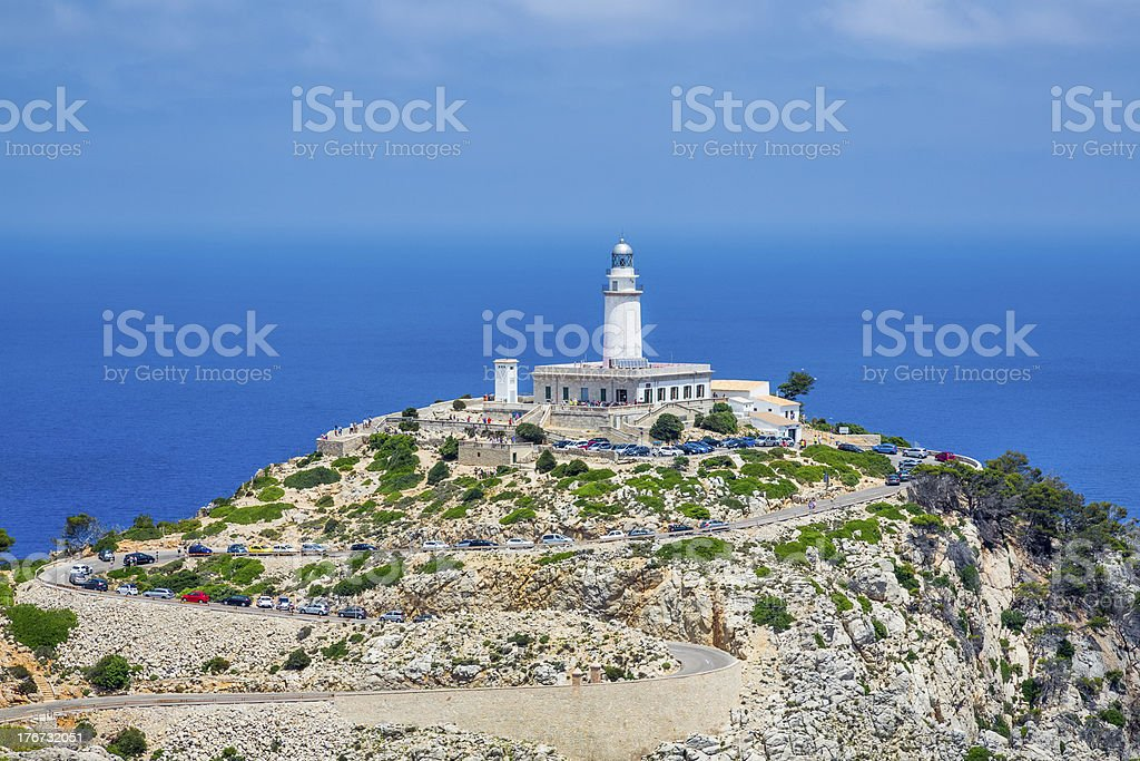 Faro de Formentor - Majorca royalty-free stock photo