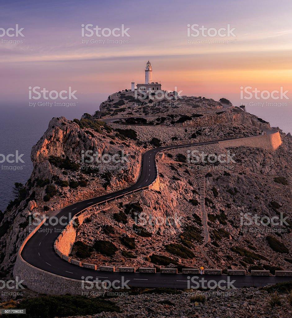 Formentor Lighthouse stock photo