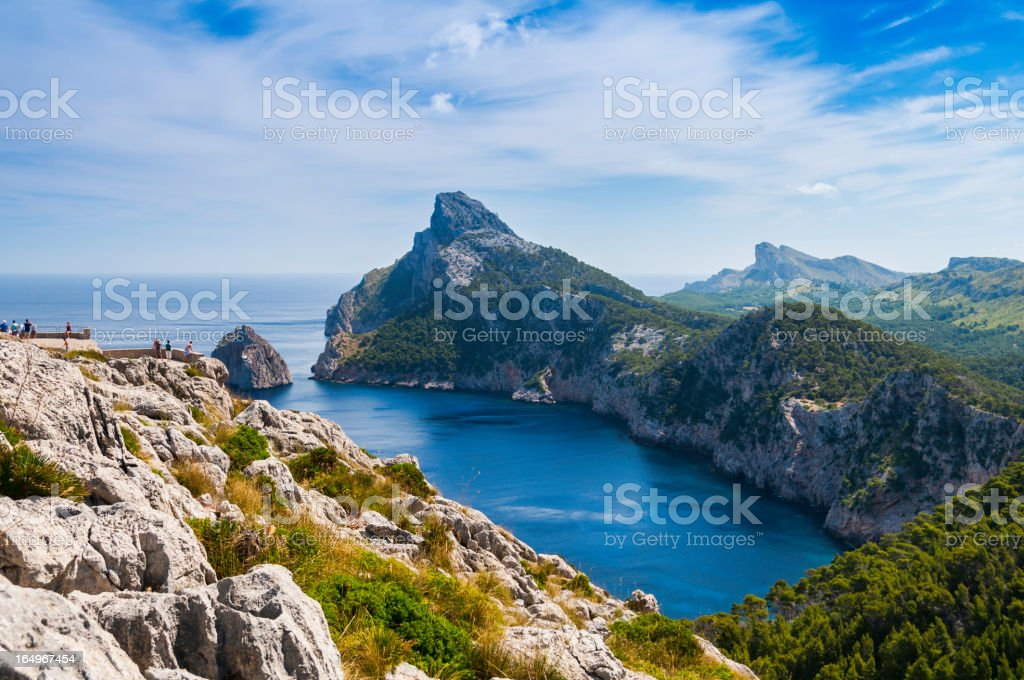 Formentor - Observation point stock photo