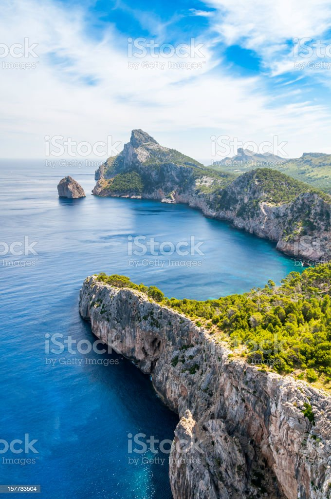 Formentor view royalty-free stock photo