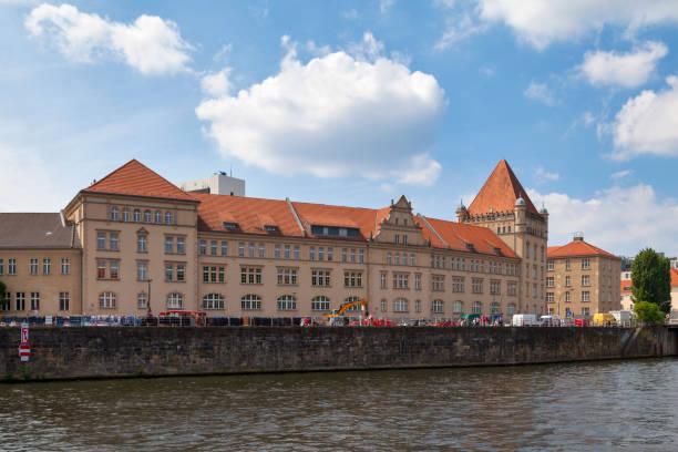 Former barracks of the Emperor Alexander in Berlin stock photo