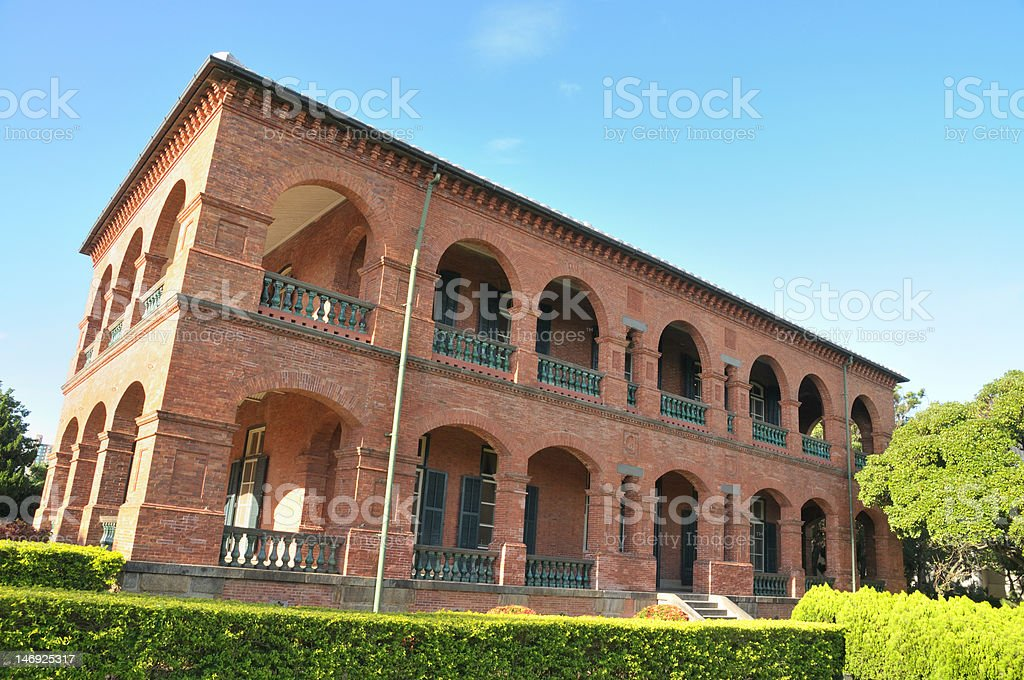 Former British Consulate Stock Photo - Download Image Now