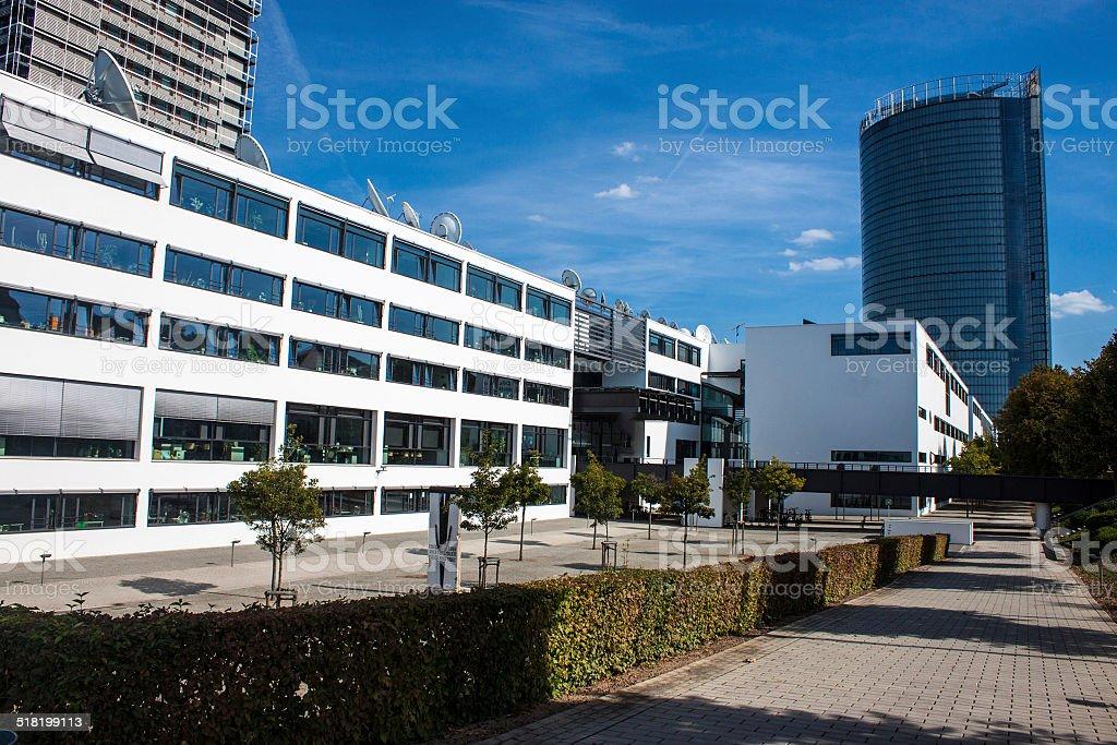 Former government building (Bundeshaus) in Bonn stock photo