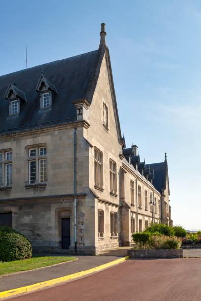 Former Priory of Montdidier stock photo