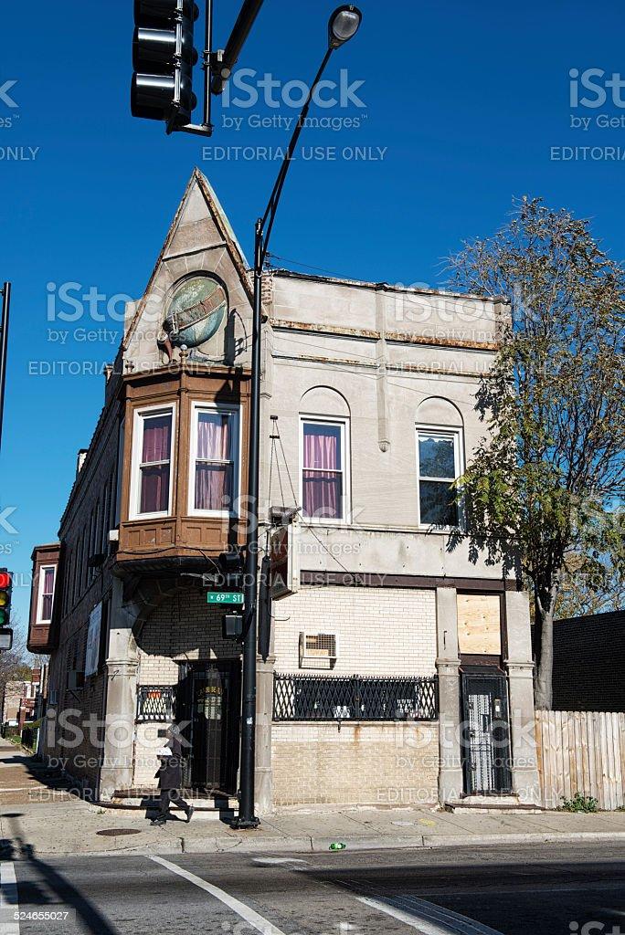Ancien Schlitz Brasserie nouée House, Englewood, Chicago - Photo
