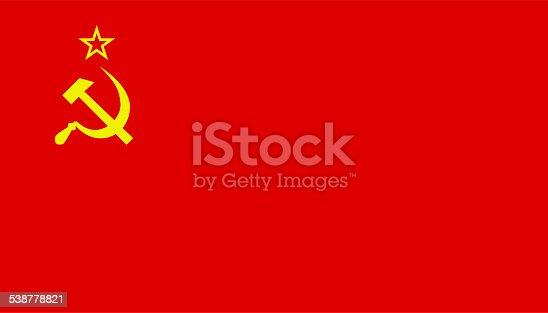istock former soviet union flag 538778821